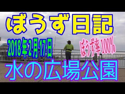 ぼうず日記13&釣り場紹介(水の広場公園 ※2019年2月17日)