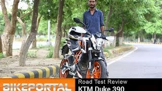 "KTM Duke 390 Review ""Test Ride"" - BikePortal"
