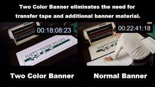 Gambar cover USCutter Two Color Banner Media Demonstration Video