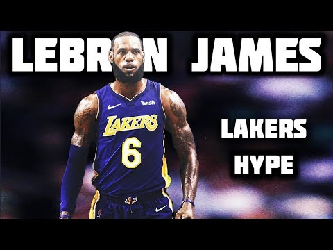 LeBron James - Welcome to The Party (LAKERS HYPE) ᴴᴰ
