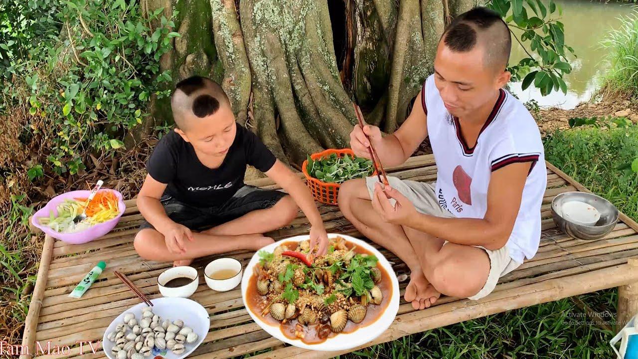Gỏi Sò Huyết - Lần Đầu Ăn Sống Món Ăn Biển Và Cái Kết