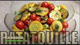 Ratatouille Fresh Steamed Vegetable Medley Cheekyricho
