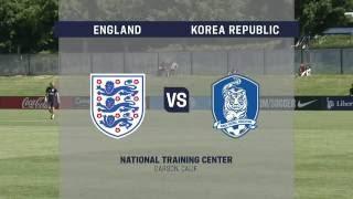 Live Video: 2016 U-20 Womens NTC Invitational: Korea Republic vs. England