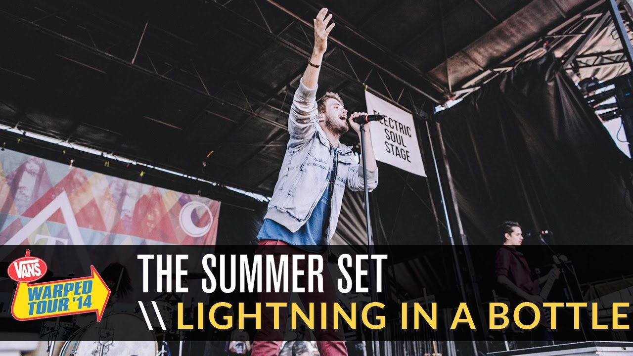 b732ac11ac The Summer Set - Lightning In A Bottle (Live 2014 Vans Warped Tour) -  YouTube