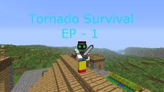 Tornado Survival Ep. 1 - BEST SEED EVER
