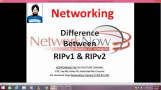 Difference Between RIPv1 & RIPv2 Video-4 in hindi  By- Manpreet Gill