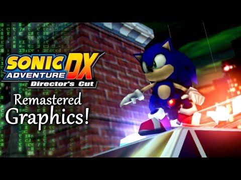 Sonic Adventure DX: Remastered Dreamcast Graphics!