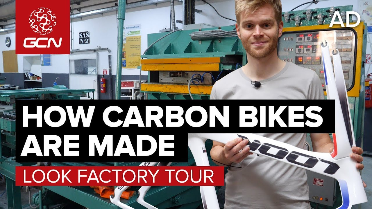 ab483a6e5b9 How Are Carbon Fibre Bikes Made? | LOOK Cycle Factory Tour - YouTube
