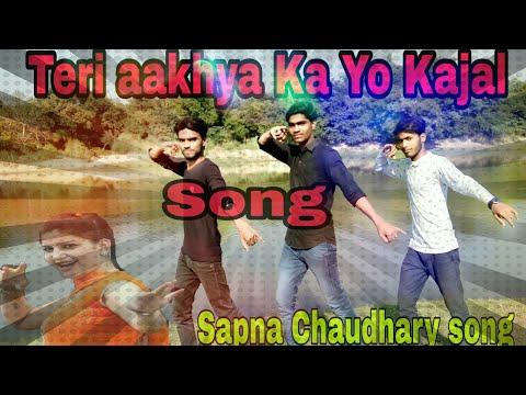Teri aakhya Ka Yo Kajal // super hit song// Sapna Choudhary //dance cover by **Rockstar group**