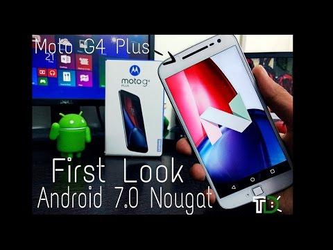 Android 7 Moto G4 Plus