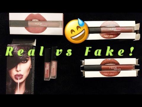 Fake Huda Beauty Liquid Lipsticks Youtube