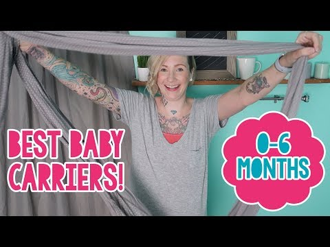 🤱🏼 BEST CARRIERS FOR NEWBORNS! (BABYWEARING SERIES) | Laurel Moring 💎
