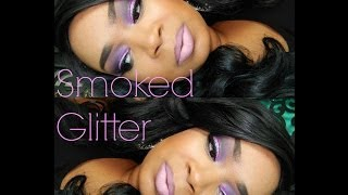 MAKEUP TUTORIAL | Daydreamin Feat. Michaels Glitter!!!! Thumbnail