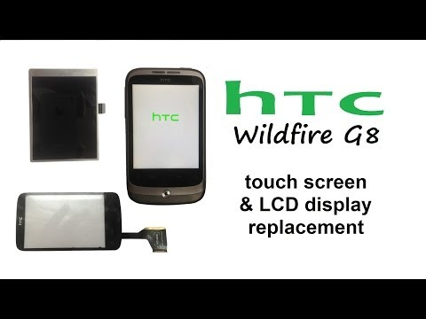 HTC Wildfire A3333 G8 - Touch Screen / Digitizer and LCD Display replacement