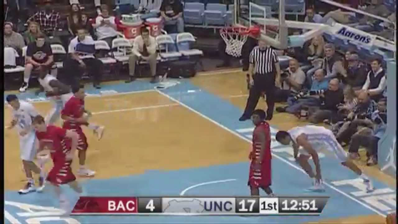 UNC Men's Basketball: Theo Pinson's Behind the Back Pass ...
