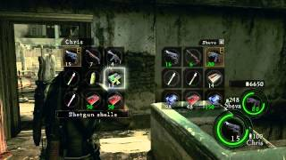 PC Longplay [455] Resident Evil 5 (part 1 of 4) 2P - Chris Side