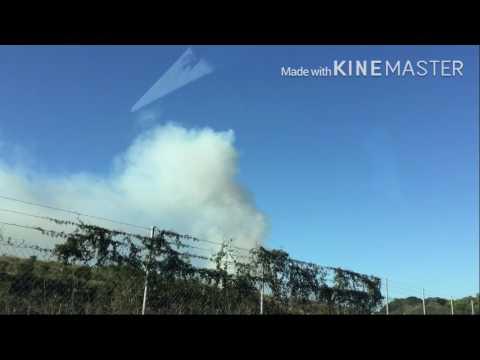 New chum dump fire