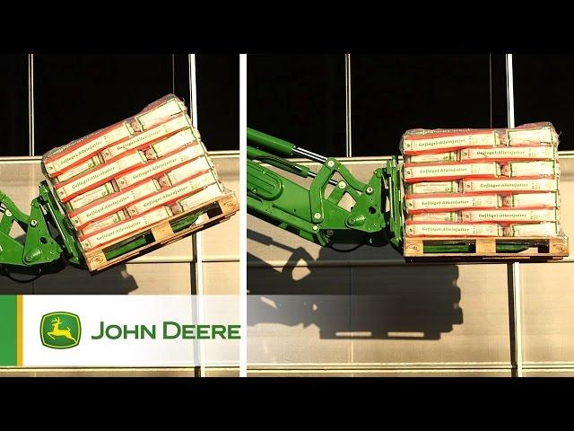 Caricatori Frontali John Deere - Livellamento elettronico (ESL) e sistema RTP