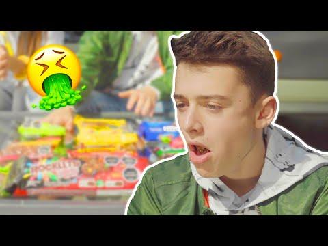 Travel Snack Food Challenge | Noah Schnapp