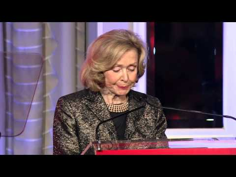 Joan Ganz Cooney at the 2015 Gloria Awards: A Salute to Women of Vision