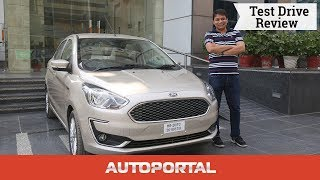 2018 Ford Aspire Test Drive Review - Autoportal