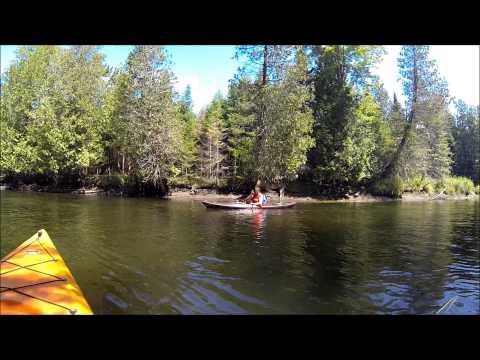 Kayak trip in Vermont