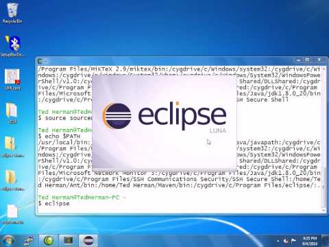 how to run my first java program in eclipse