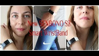 new SENBONO S2 SMART WATCH WRISTBAND from Aliexpress Store for HEALTHY WORKOUT