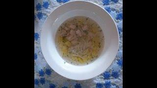 Куриный суп с лапшой в мультиварке редмонд