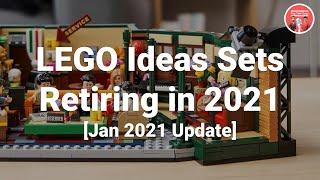 LEGO Ideas Sets Retiring in 20…