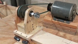 Homemade Lathe Pt. 1 - The Headstock And Base