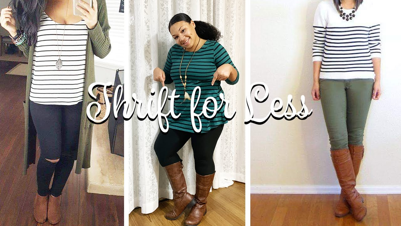 [VIDEO] - THRIFTED LOOK FOR LESS| 7 THANKSGIVING OUTFIT IDEAS! CASUAL +DRESSY 1