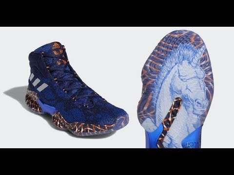 Adidas Pro Bounce Unicorn Kristaps Porzingis PE Shoe Review Plus On Feet  Look (Kp Signed Shoes)