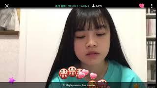 Hkt48 쇼룸 내전중 한국어 ㅎㅎ 우리아오이,우리꼬부기.