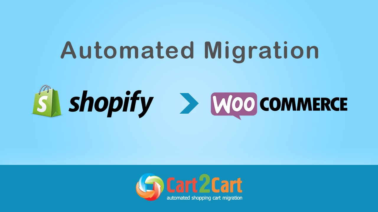Shopify to WooCommerce | Automated Migration | Cart2Cart