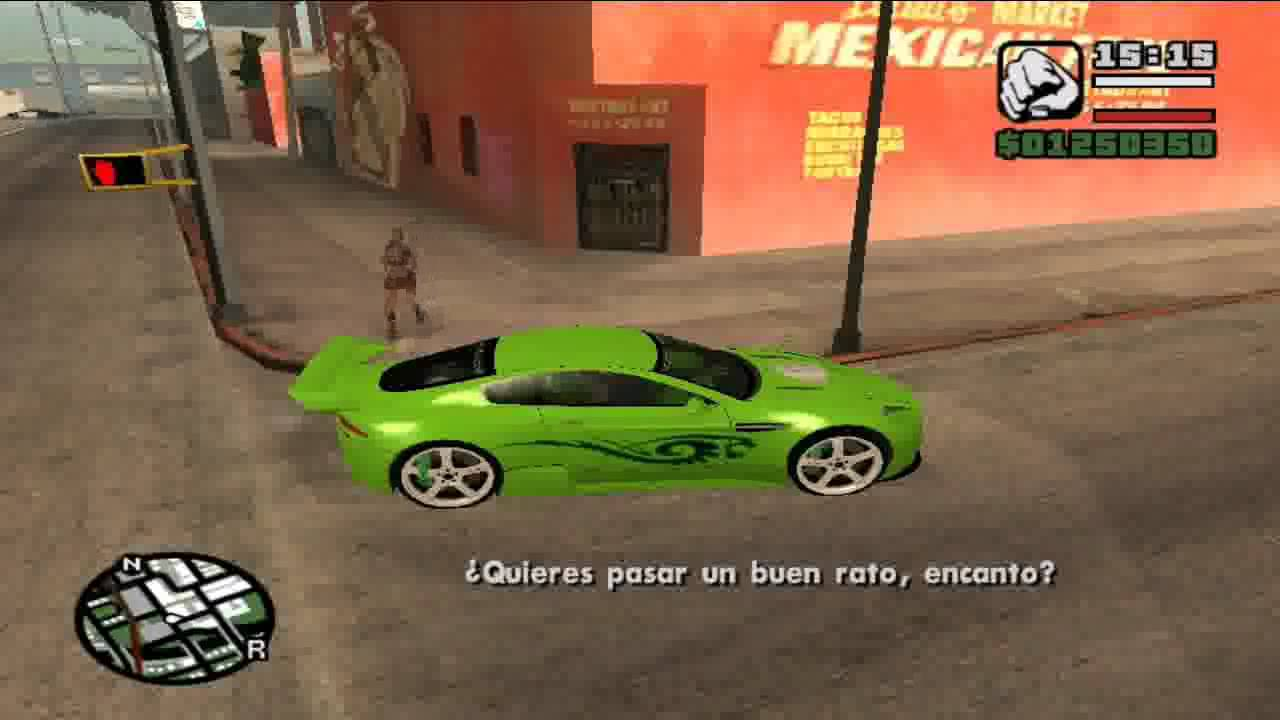 Mi Mejor Auto Y Moto En Gta San Andreas Youtube