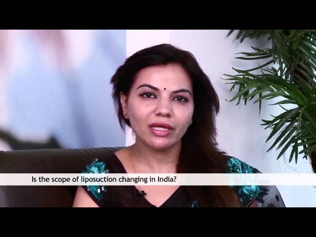 Dr Charu Sharma is talking about Scope of Liposuction in india