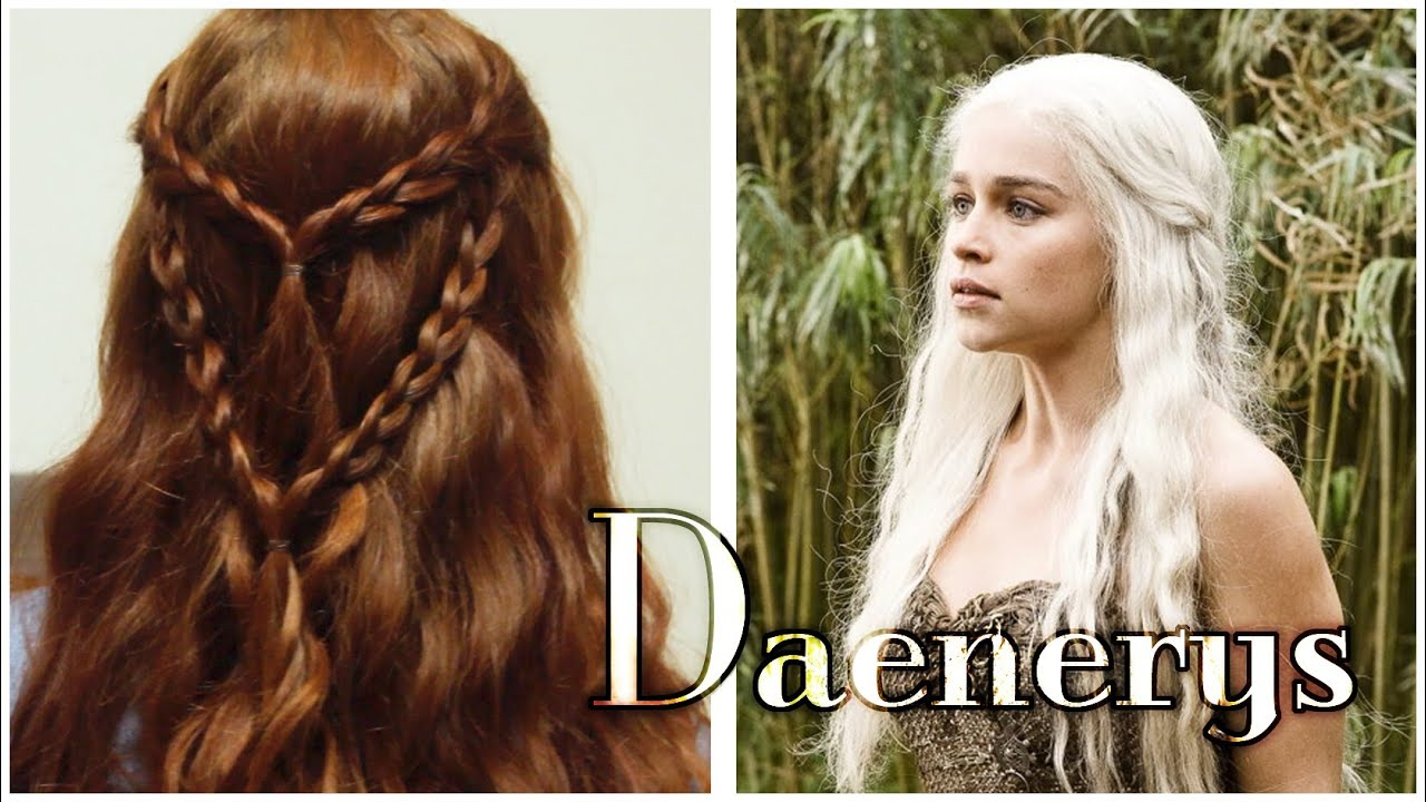 Wonderful Game Of Thrones Hair Tutorial   Daenerys In The Dothraki Grass   YouTube