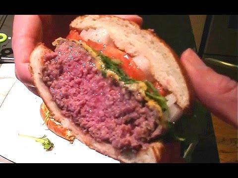 Burger Sous Vide Medium Rare 1080p