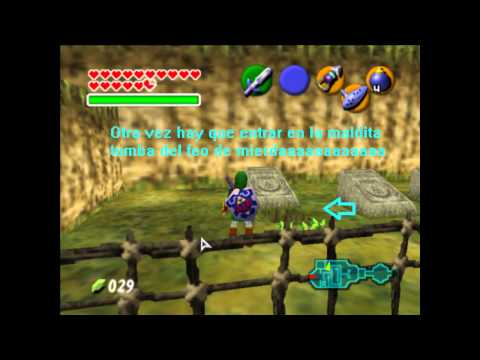 Guia de Zelda Ocarina of time: Piezas de Corazon (Donde encontrarlas) Loquendo
