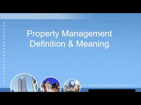 Property Management Definition