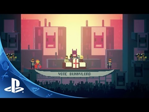 Not A Hero - Gameplay Trailer | PS4