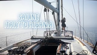 22. Can't See Fog All Traveling Italy To Albania   Sailing Sunday