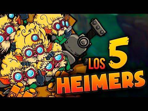 LOS 5 HEIMERS | LA ÉPICA BATALLA DEL REGRESO | Heimer ADC