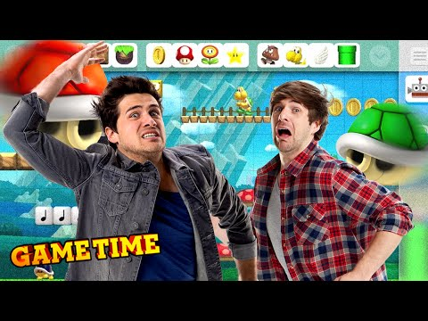 WE'RE THE BEST IN MARIO MAKER (Gametime w/ Smosh Games)