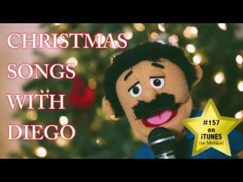 Christmas songs with Diego