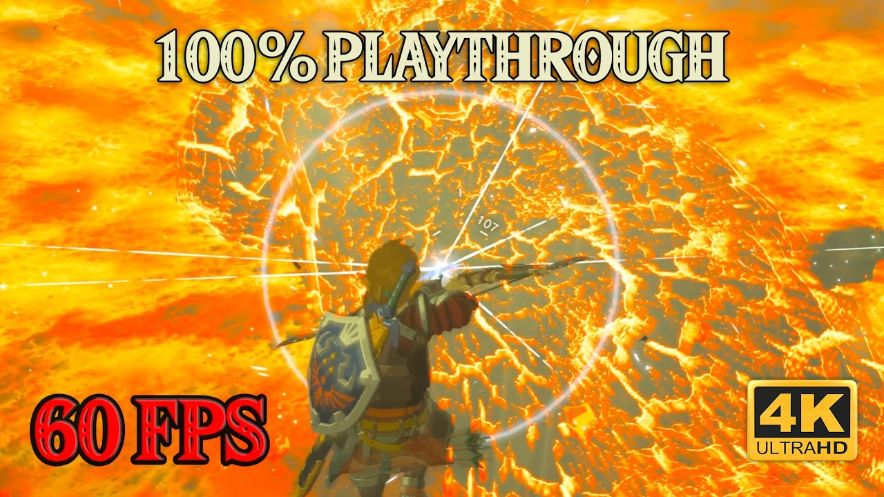 Zelda Breath of the Wild - 100% Playthrough [4K 60FPS CEMU] Part 23 ~ Flaming Hot