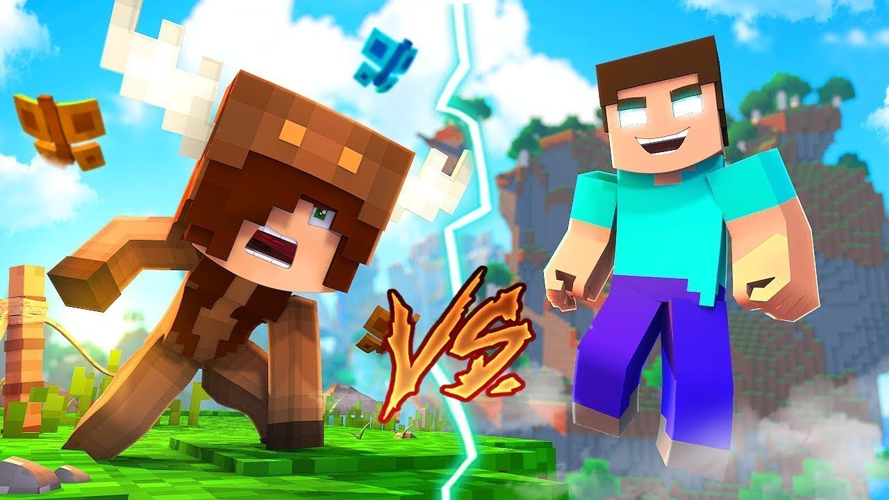 Minecraft Daycare - BABY GIRLFRIEND vs HEROBRINE! w/ MooseCraft (Minecraft  Kids Roleplay)
