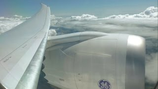 Thomson Airways Boeing 787-8 Dreamliner - Gatwick to Orlando Sanford - takeoff and landing   TOM070
