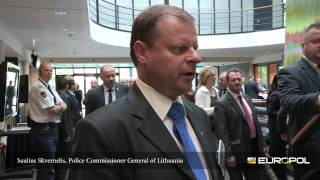 Saulius Skvernelis, Police Commissioner General of Lithuania - EPCC 2013